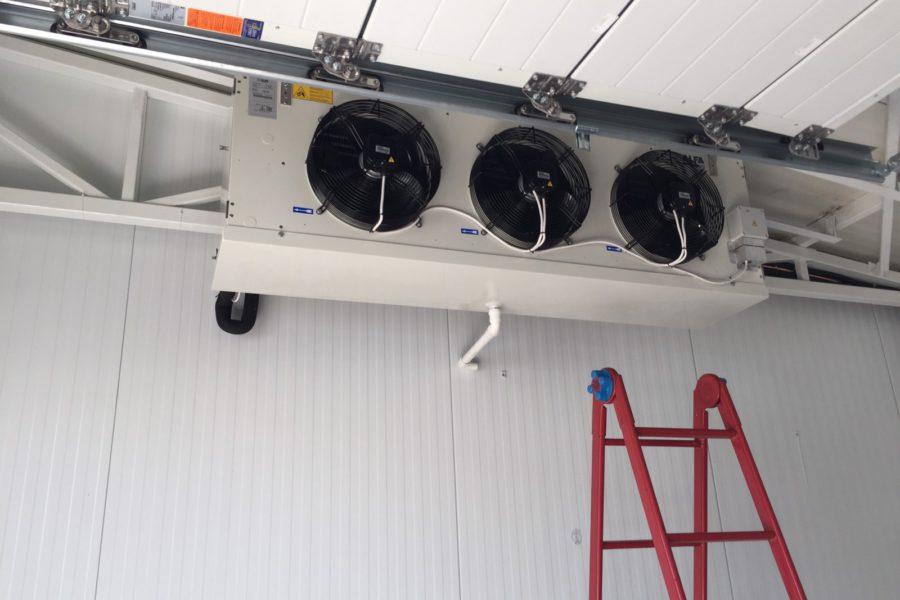 Монтаж холодильних систем біля житлових комплексах 2