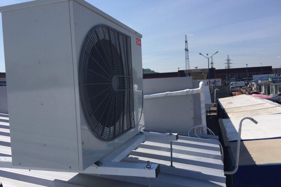 Монтаж холодильних систем в житлових комплексах